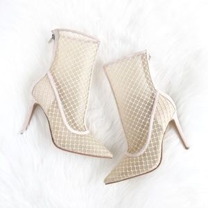 "Kendall & Kylie ""Eva"" Fairy Suede Lattice Boots"